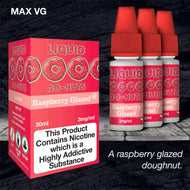 Do-Nuts Raspberry (HIGH VG) by Dripping Range eJuice [10ml TPD Bottle] at VapeRanger UK Wholesale