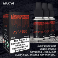 Vampire Astaire (HIGH VG) by Dripping Range eJuice [10ml TPD Bottle] at VapeRanger UK Wholesale