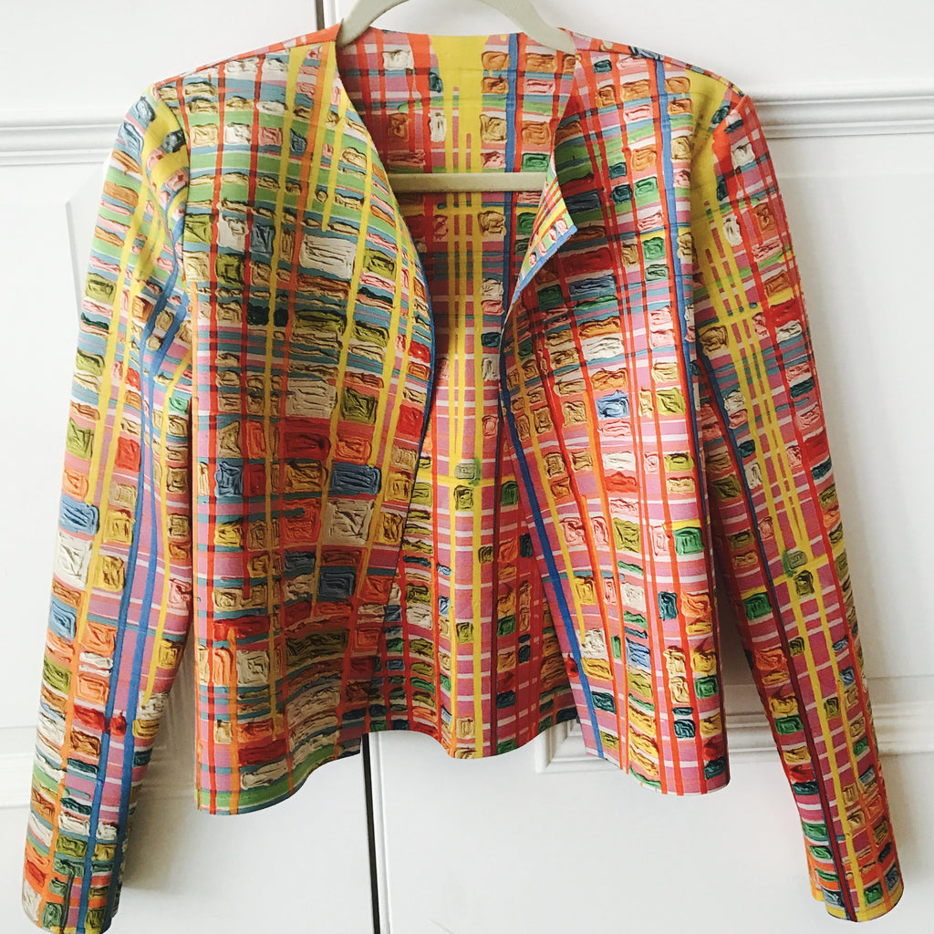 Painted Paper Jacket