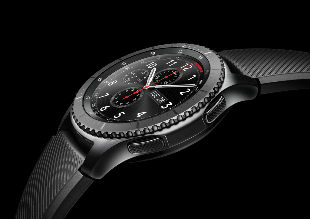 Samsung Gear S3 frontier smartwatch (Bluetooth), Space Gray