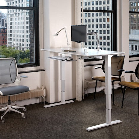 float, standing desk - the thrive global store