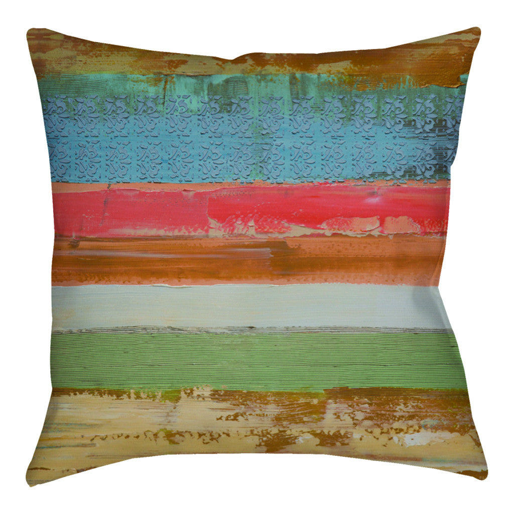 Iced Sunrise Pillow