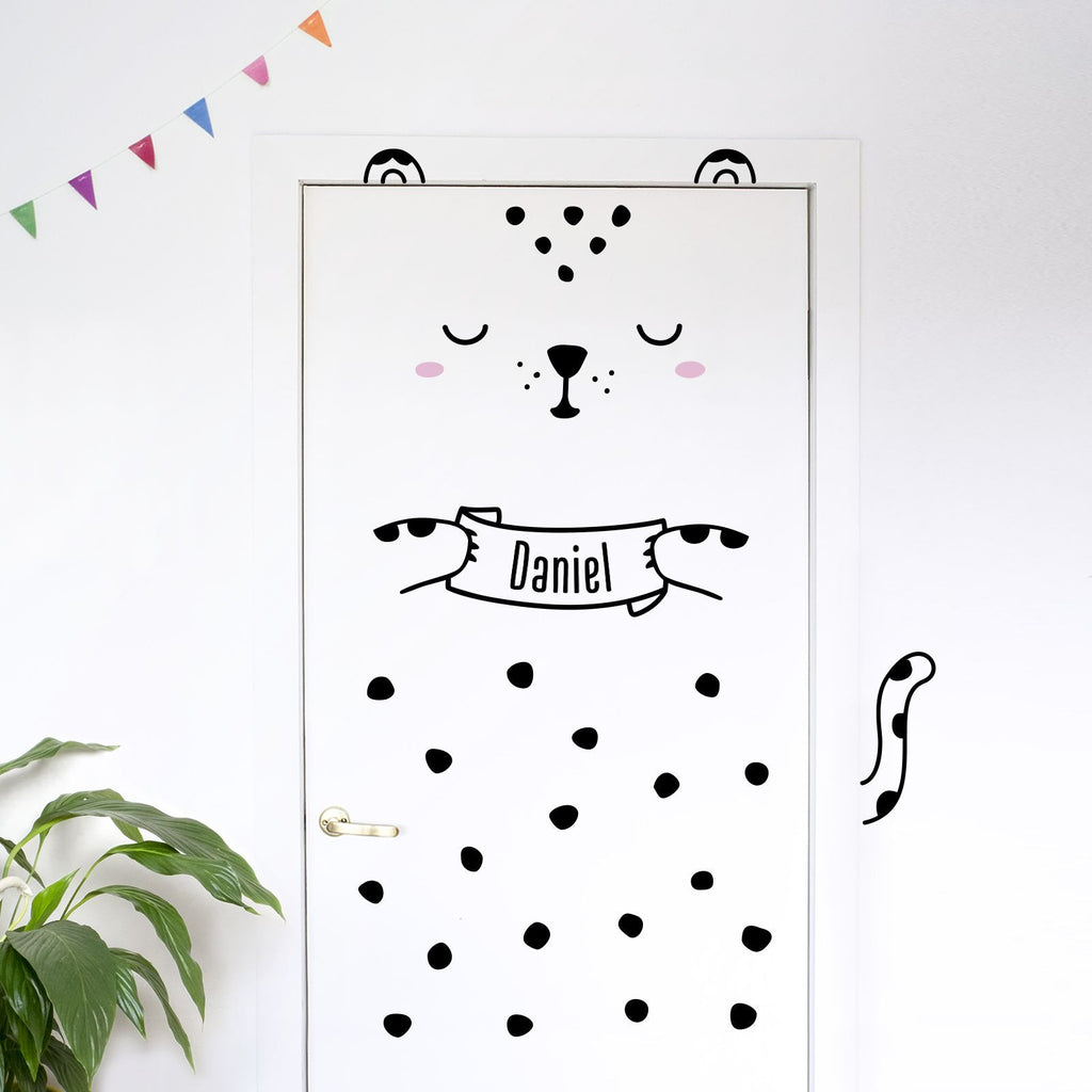 Vinilo Leopardo Personalizado - Lo último en Decoración Infantil | Made of Sundays
