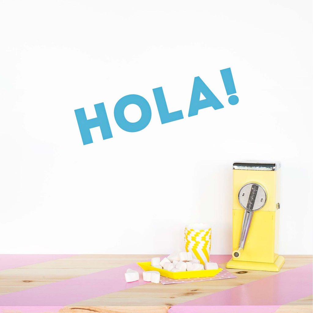 HOLA! - Decoración Original con Vinilos | Made of Sundays