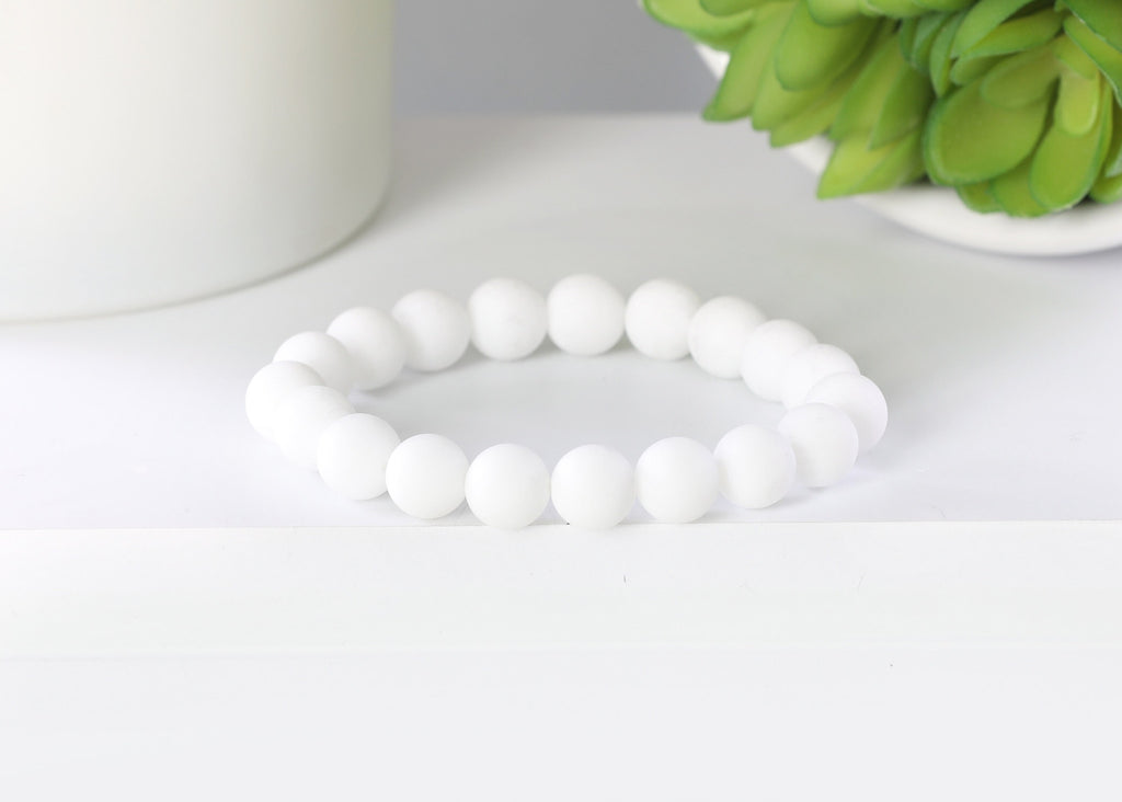 Matte White Quartz 10mm