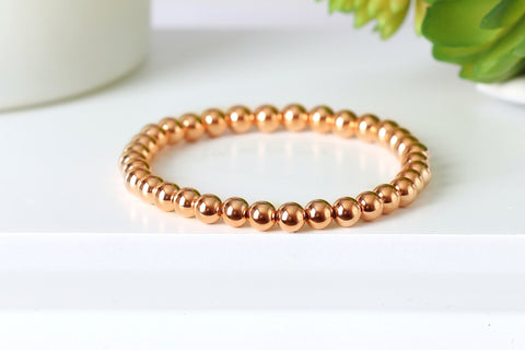 14k Rose Gold Filled 6mm