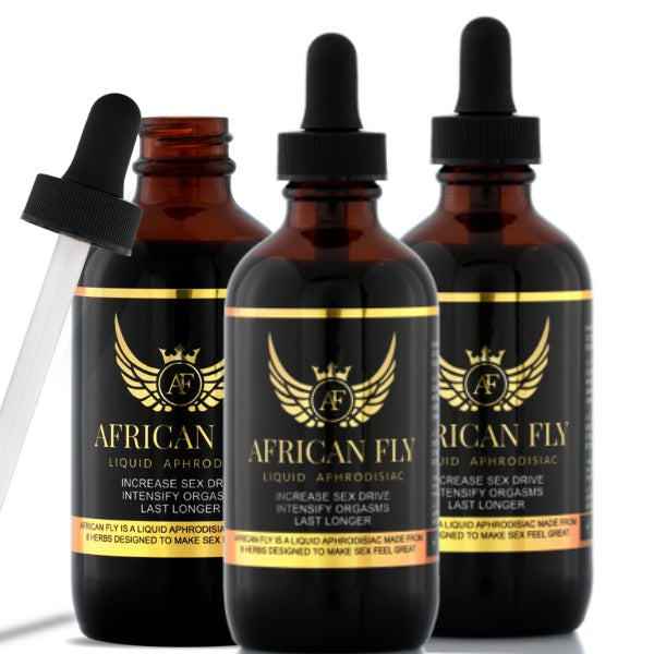 3 Bottles of African Fly