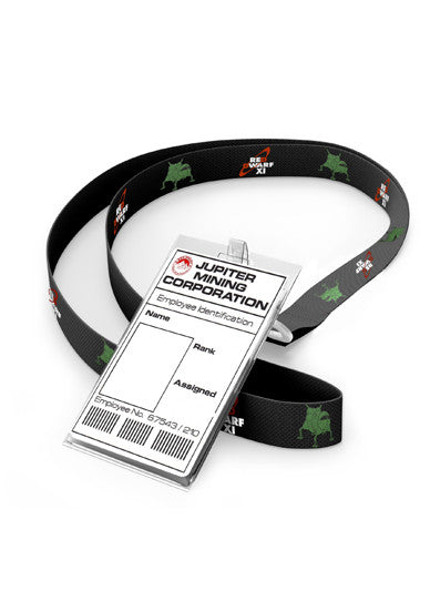 Red Dwarf XI Lanyard with ID Card Holder