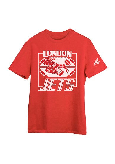 LONDON JETS T-SHIRT - RED