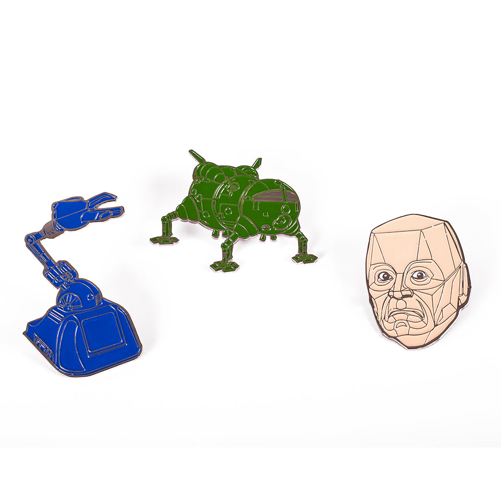 CLASSIC PIN BADGE SET
