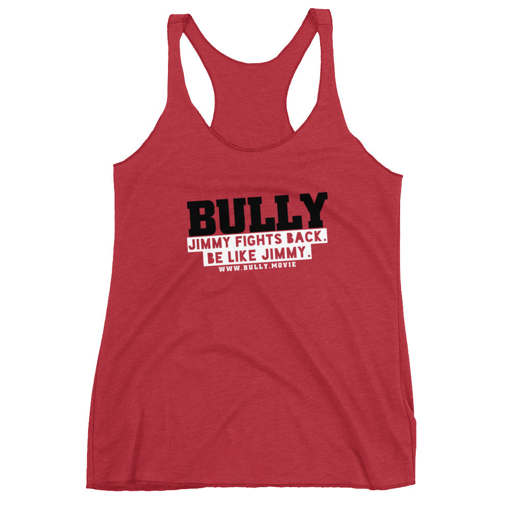 BULLY - Be Like Jimmy Women's Racerback Tank