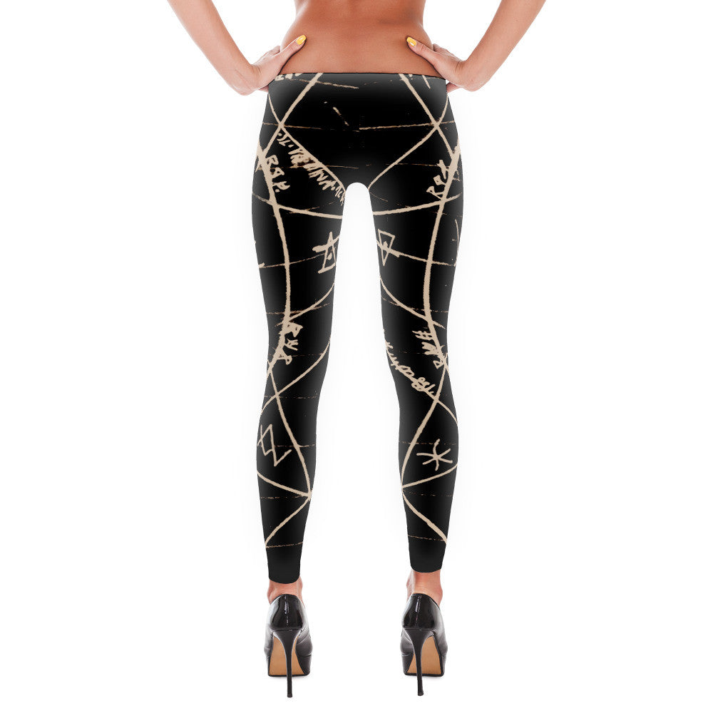 """Ultimetal"" Leggings [BLACK]"