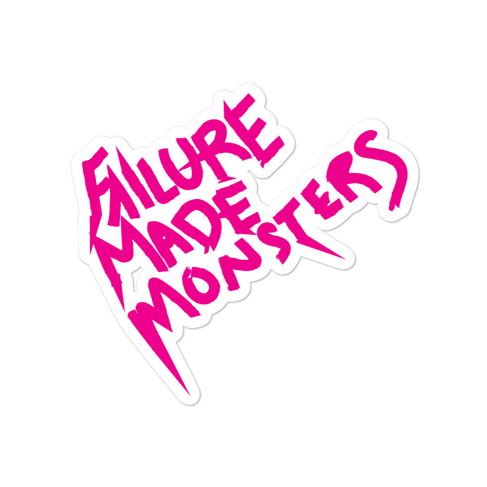 Failure Made Monsters Logo Sticker