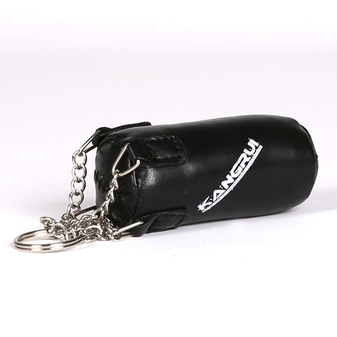Black Boxing Bag Keychain