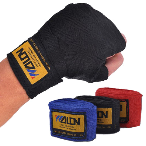 2pcs/roll 2.5M Cotton Boxing Handwraps