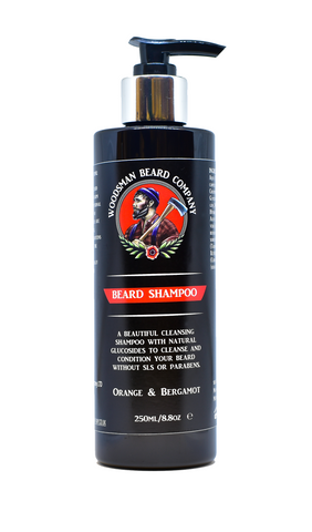 Beard Shampoo - [shop-name] -Beard oil, beard balm, gift sets, clothing, men's, organic.