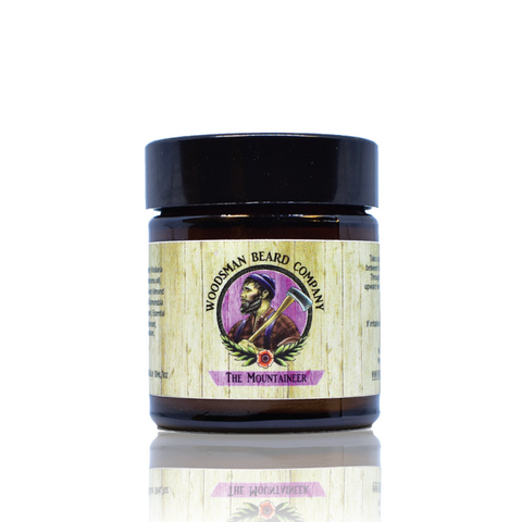 The Mountaineer Beard Balm 30ml - [shop-name] -Beard oil, beard balm, gift sets, clothing, men's, organic.