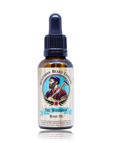 The Woodsman Beard Oil - [shop-name] -Beard oil, beard balm, gift sets, clothing, men's, organic.
