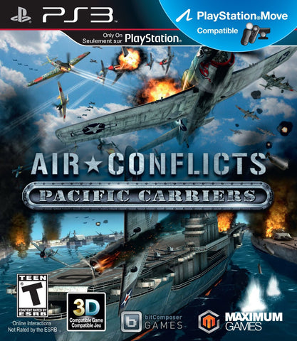 Air Conflicts: Pacific Carriers - PS3