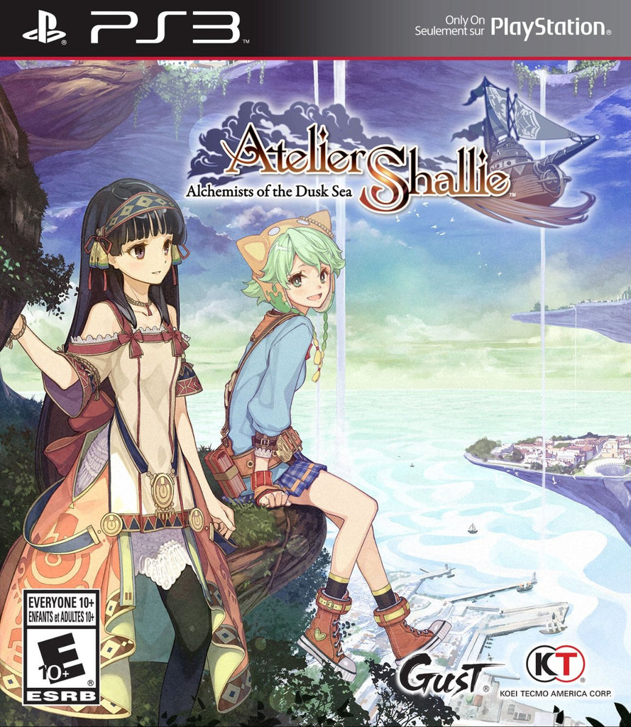 Atelier Shallie: Alchemists of the Dusk Sea - PS3