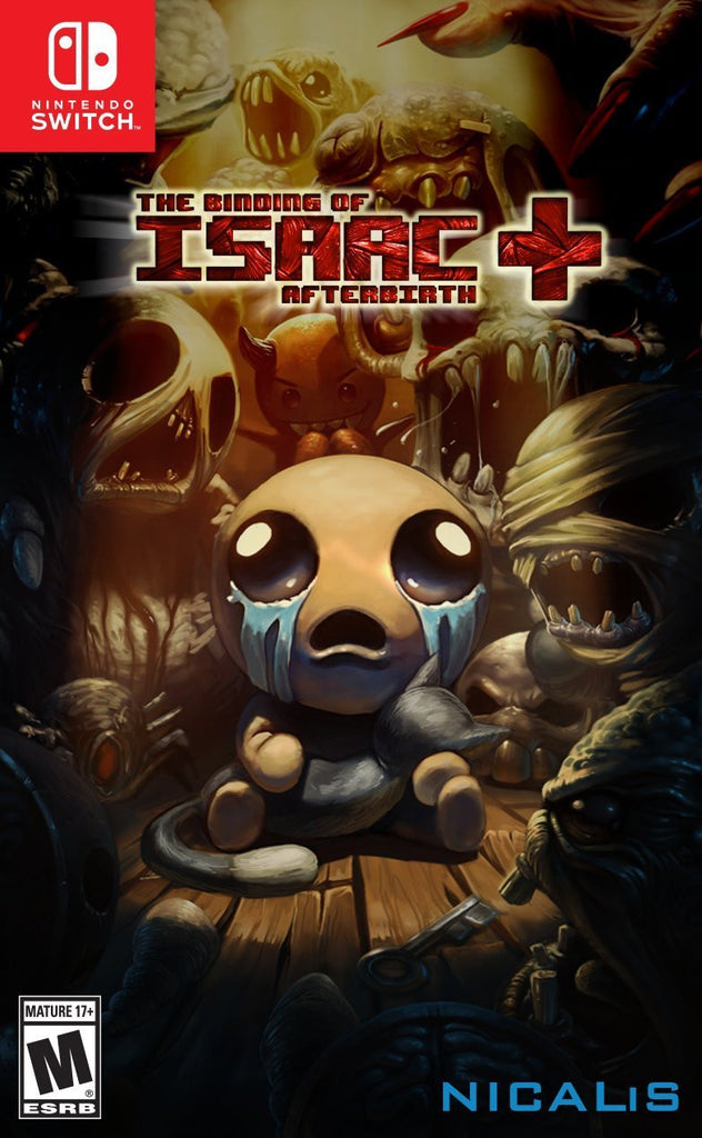 The Binding of Isaac: Afterbirth+-- Switch