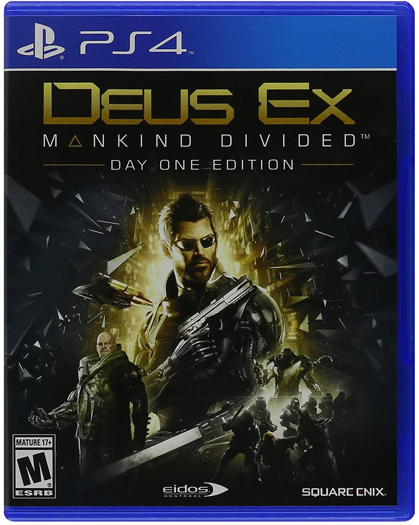 Deus Ex: Mankind Divided - PS4
