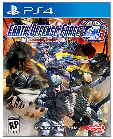 Earth Defense Force 4. - PS4