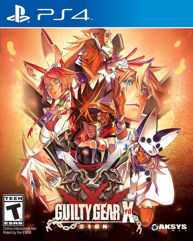Guilty Gear Xrd: Sign - PS4
