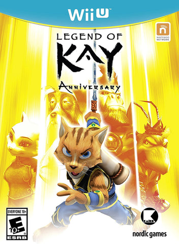 Legend of Kay - Wii U