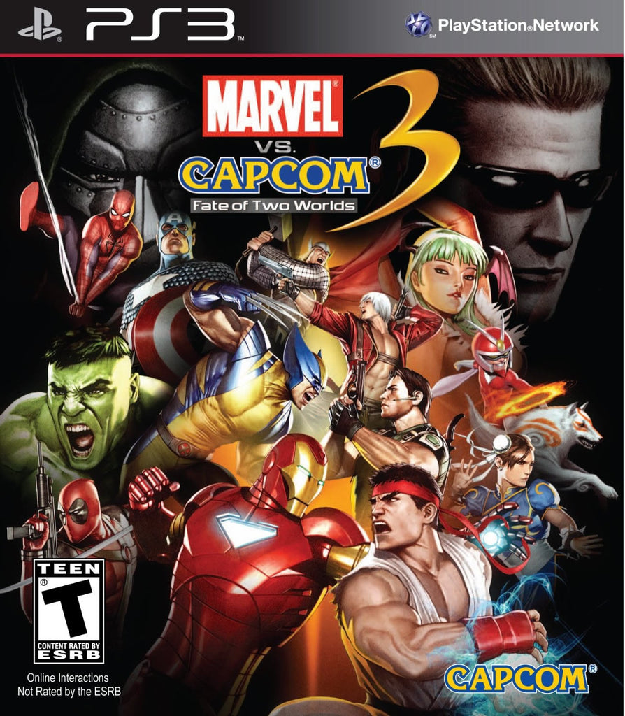 Marvel vs. Capcom 3: Fate of Two Worlds - PS3