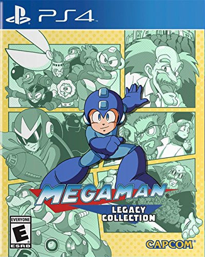 Mega Man Legacy Collection - PS4