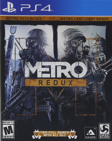 Metro Redux (Last Light & 2033) - PS4