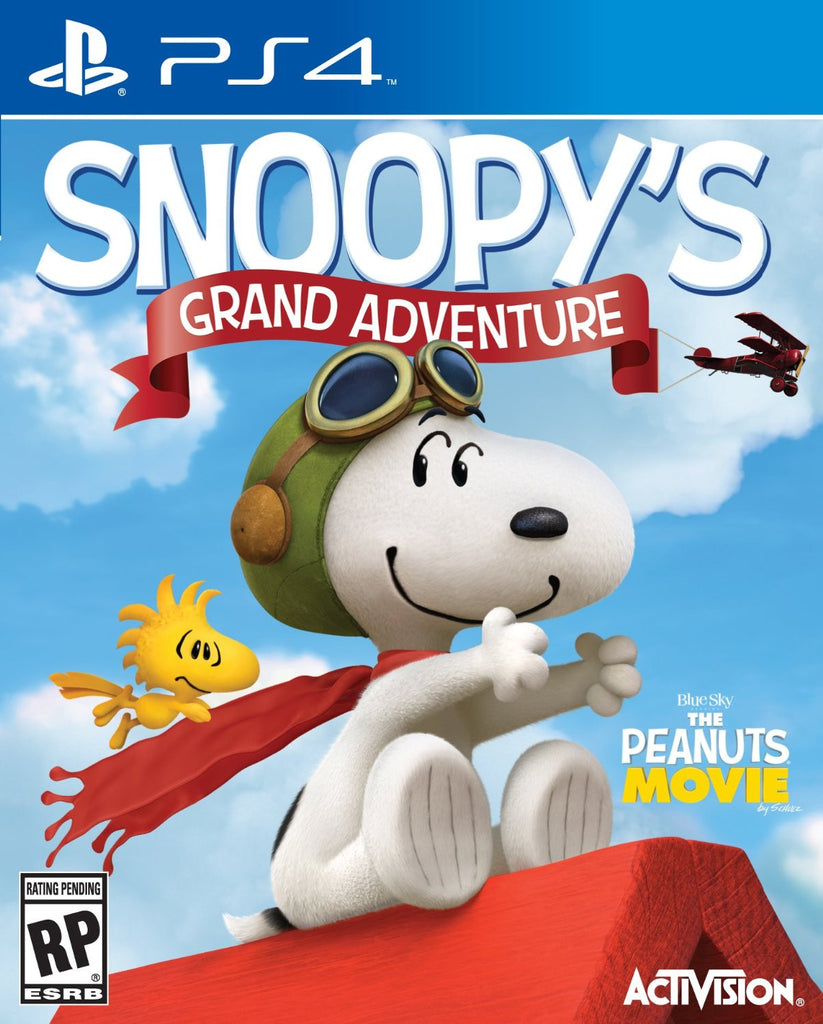 The Peanuts Movie: Snoopy's Grand Adventure - PS4