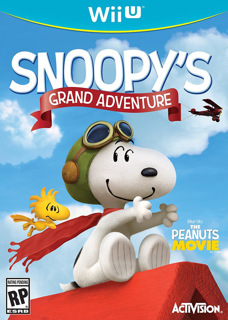 The Peanuts Movie: Snoopy's Grand Adventure - Wii U
