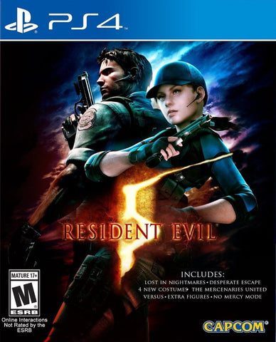 Resident Evil 5 HD - PS4