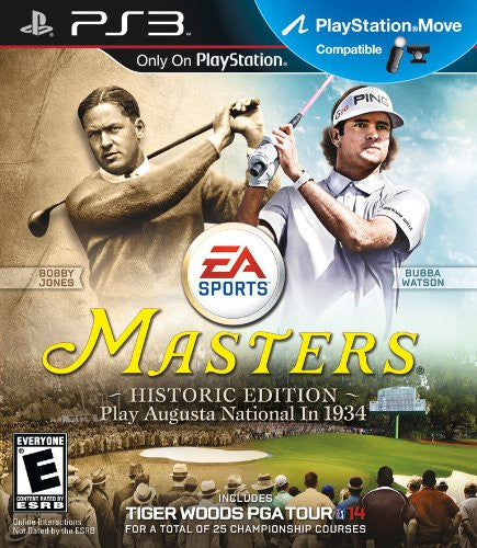 Tiger Woods: PGA Tour 14 Masters Historic Edition - PS3