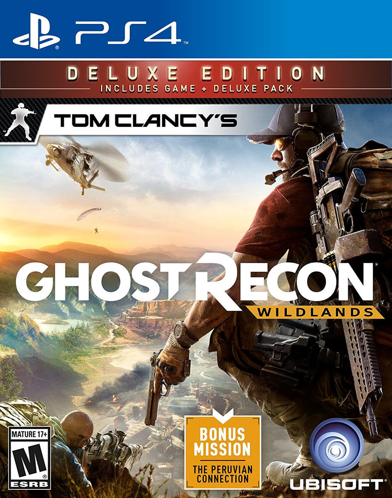 tom clancy's ghost recon wildlands: deluxe edition - ps4 – gamerbarter