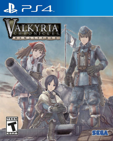 Valkyria Chronicles Remaster - PS4