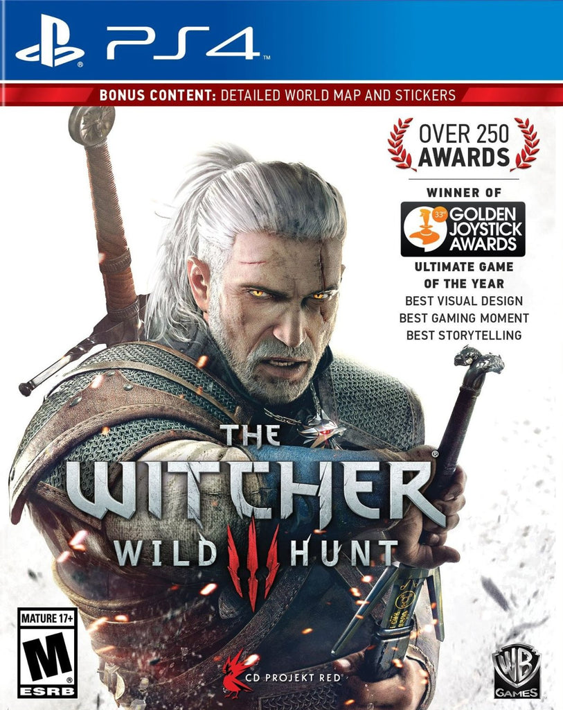 The Witcher 3 (Wild Hunt) - PS4