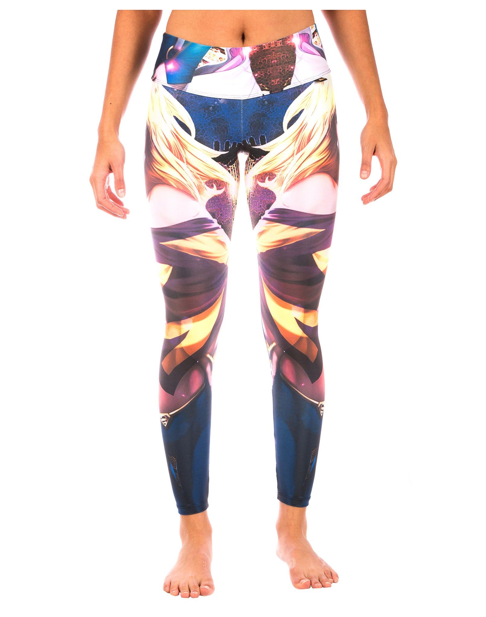 Yoga Pants - Blondie - LavaLoka - So much personality in one pair of workout pants. Hit the gym in style!