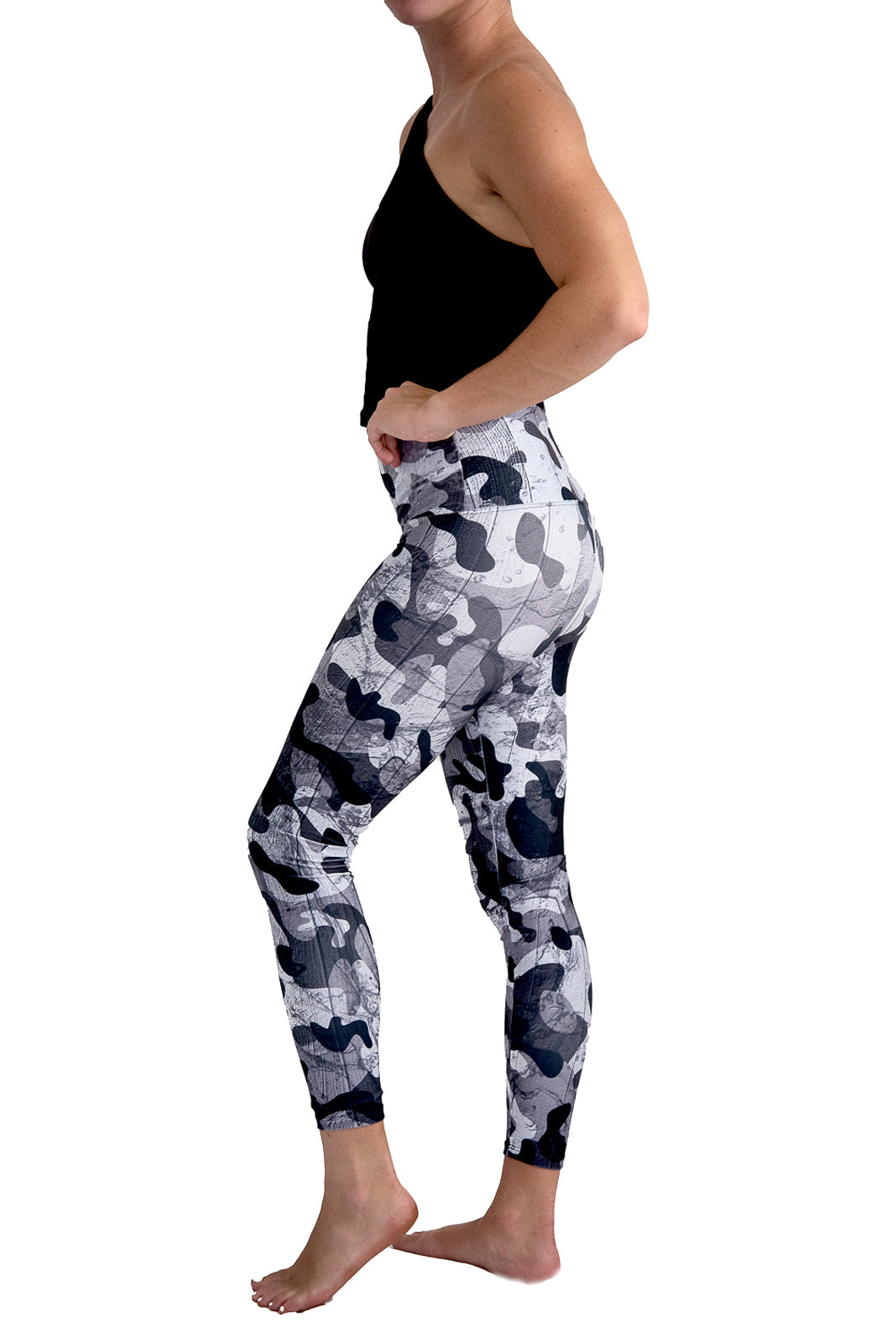 Deborah the Camo King Yoga Pants