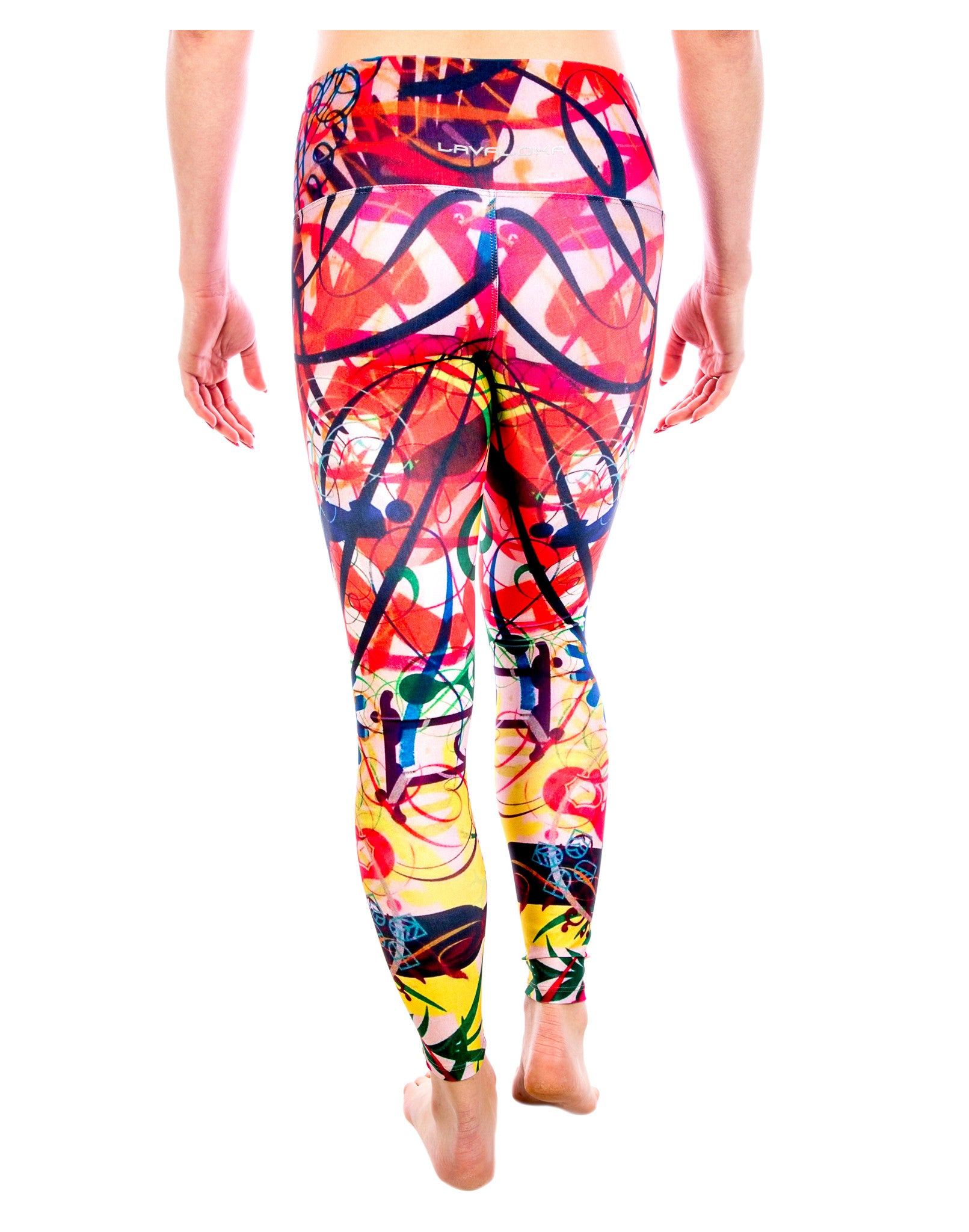 250aa1a196c79 ... Yoga Pants- Doodle Legging from the Color Me Beautiful Yoga Pants  Collection by LavaLoka
