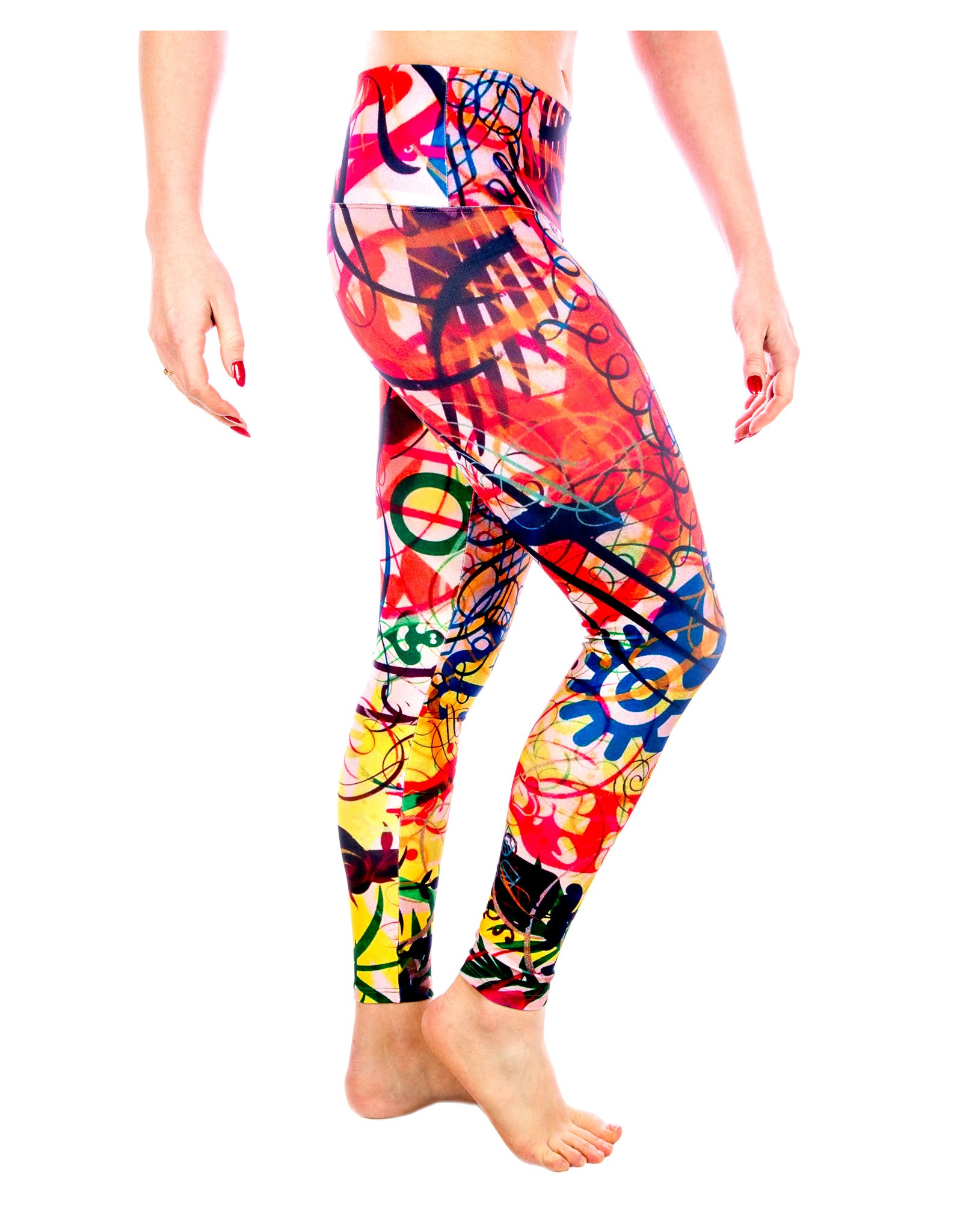 d1dc131918607 Yoga Pants- Doodle Legging from the Color Me Beautiful Yoga Pants Collection  by LavaLoka ...