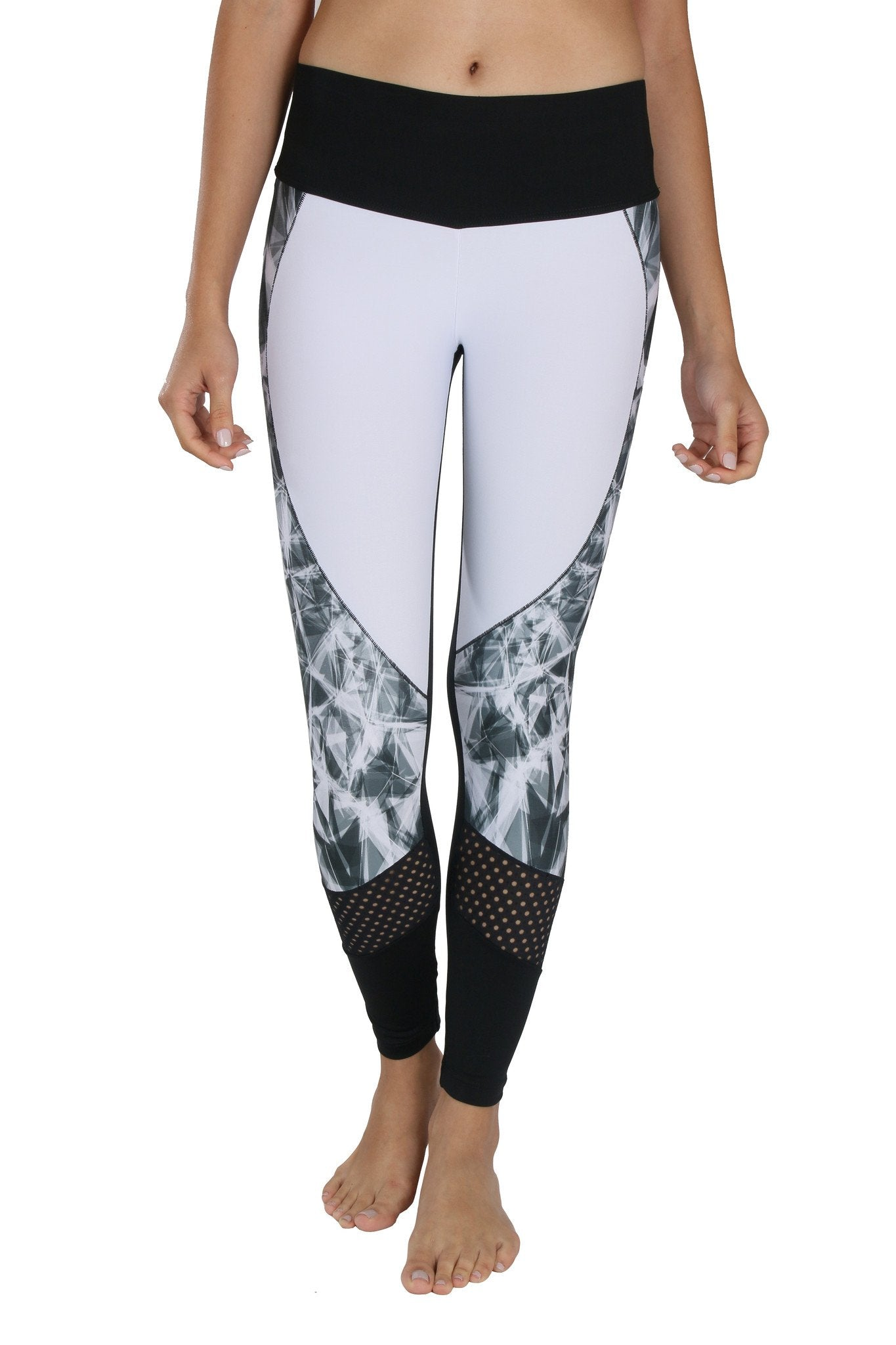 Eva Black & White Legging