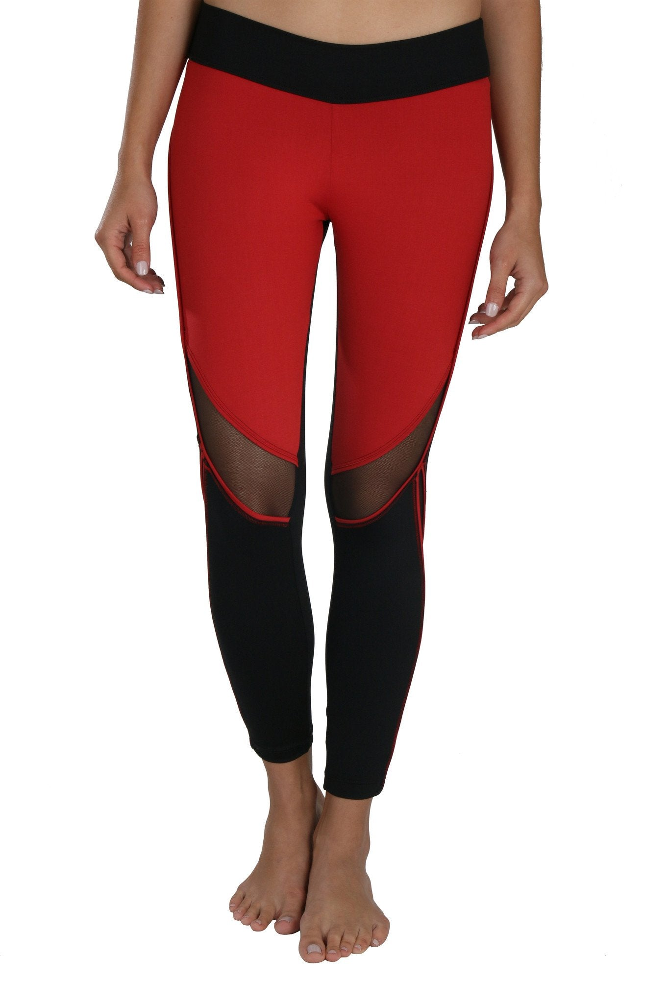Amelia Red Legging