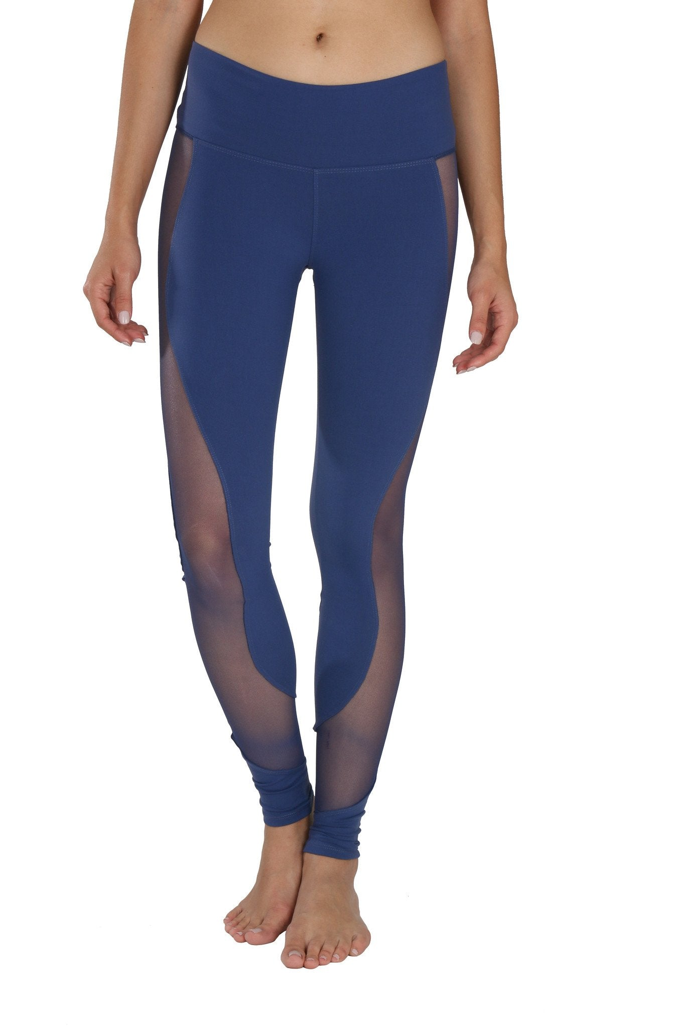 Lululemon Leggings With Mesh on Side