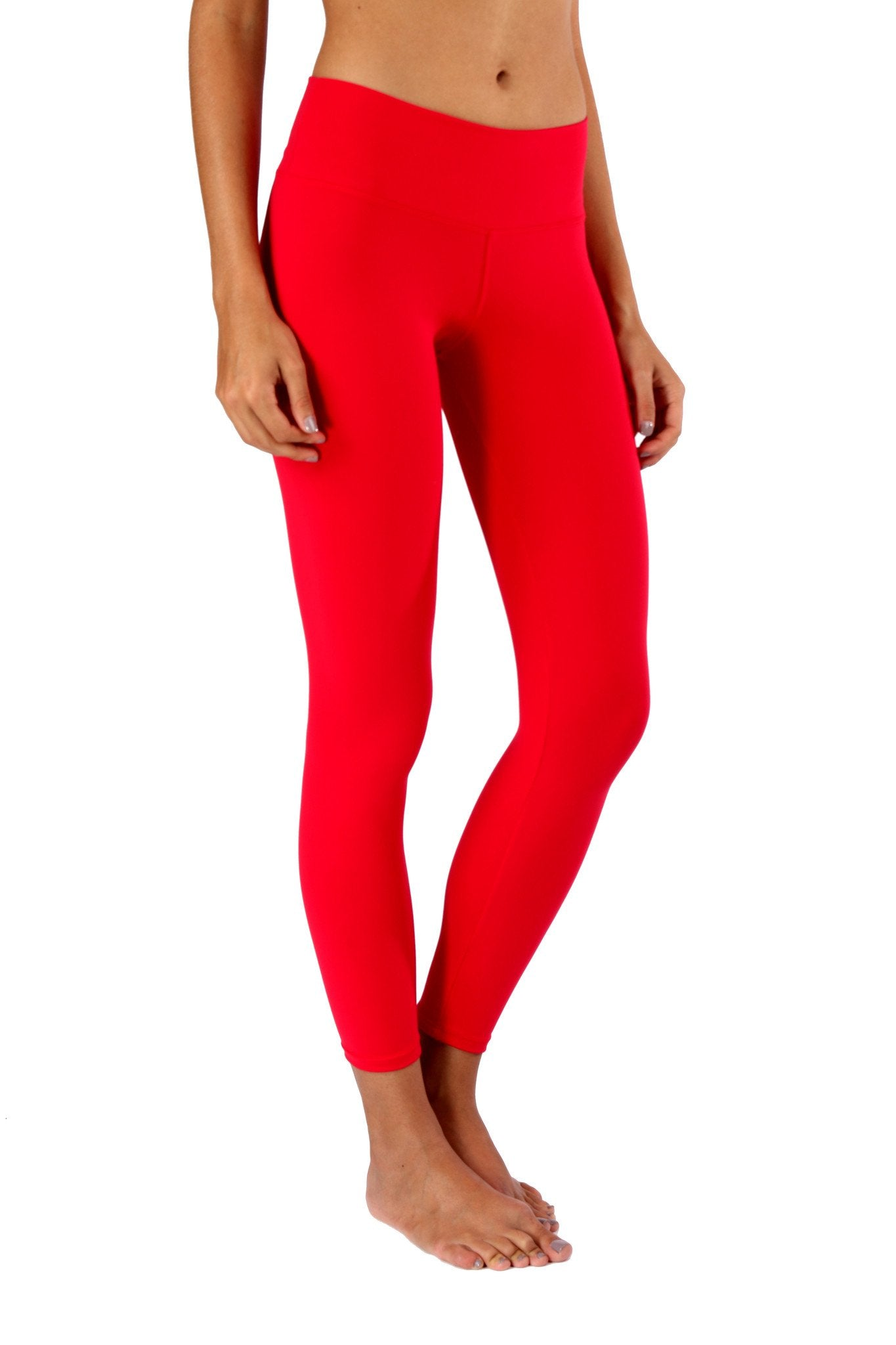 Red Basic Legging