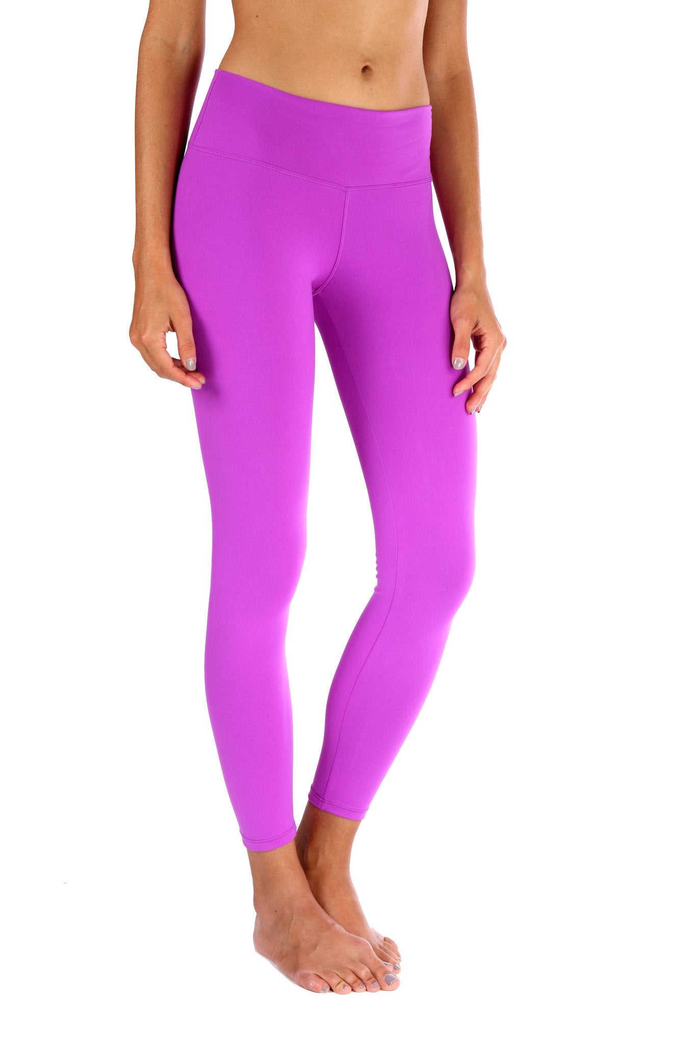 Purple Basic Legging