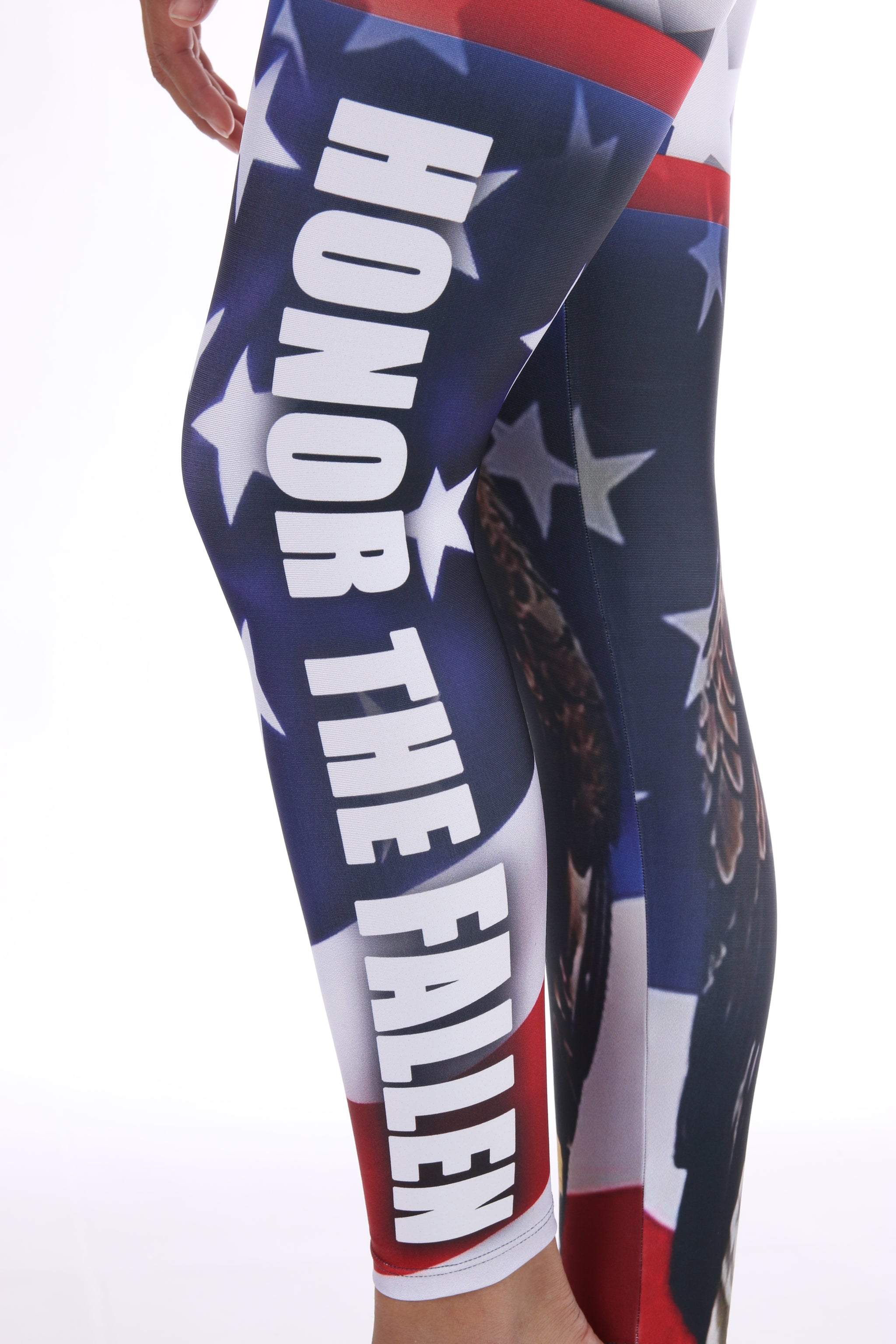 Veteran's Day | Honor the Fallen | Support American Military Leggings | Lavaloka
