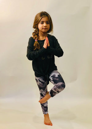 Deborah the Camo King Legging for Kids